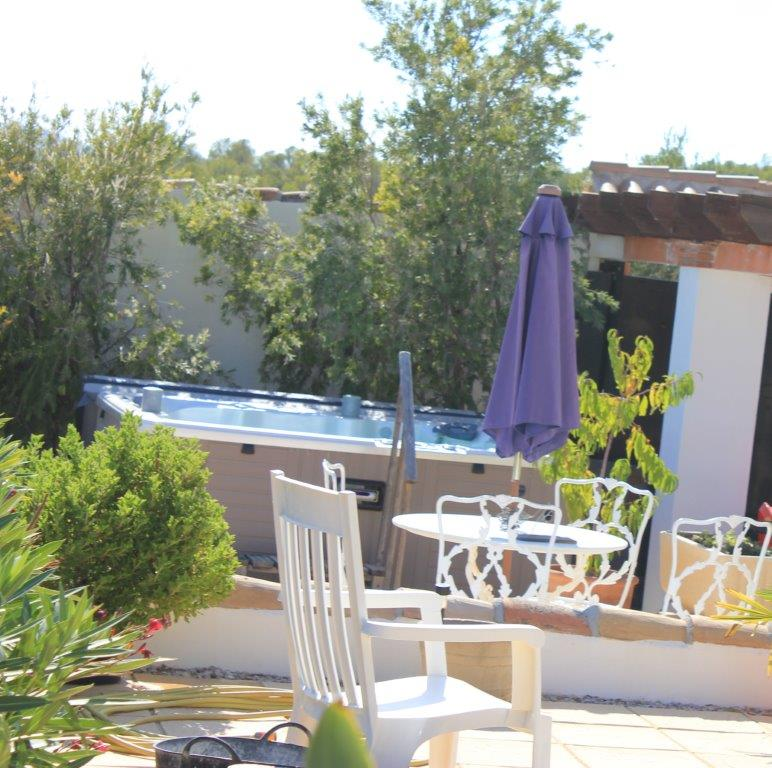Tub Terrace | Finca Xanadu | Adult Only Retreat | Spain