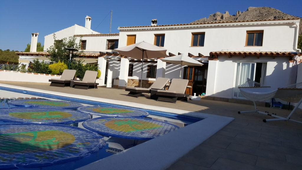 Sun Baking Terrace | Finca Xanadu | Adult Only Retreat | Spain